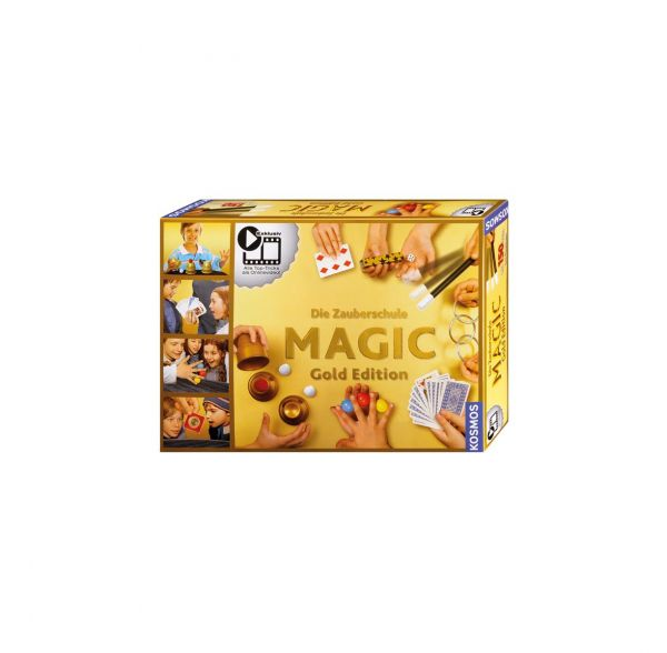 KOSMOS 698232 - Zauberkasten - Zauberschule Magic, Gold Edition