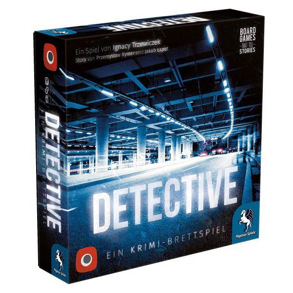 PEGASUS 57505G - Kennerspiel - Detective, Deutsche Ausgabe