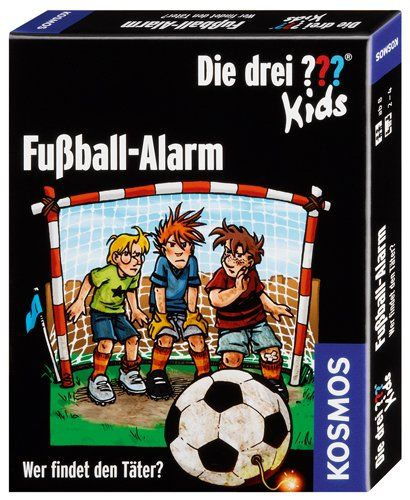 KOSMOS 741518 - Kartenspiel - Die drei ??? Kids Fußball-Alarm