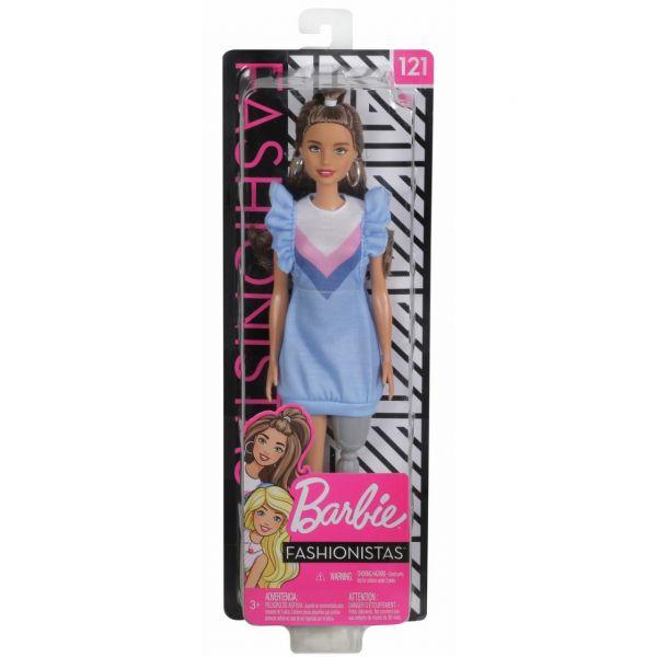 MATTEL FXL54 - Barbie - Fashionistas Puppe mit Beinprothese