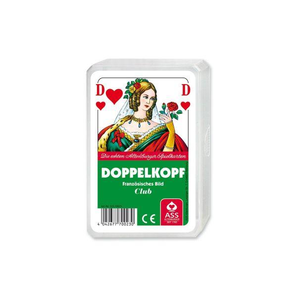 ASS Altenburger Spielkarten 70023 - Doppelkopf, französisches Bild, Kunstoffetui