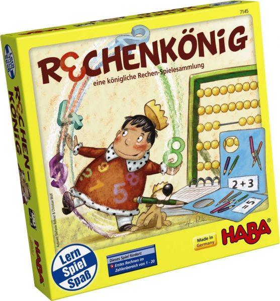 HABA 7145 - Gesellschaftsspiel - Rechenkönig