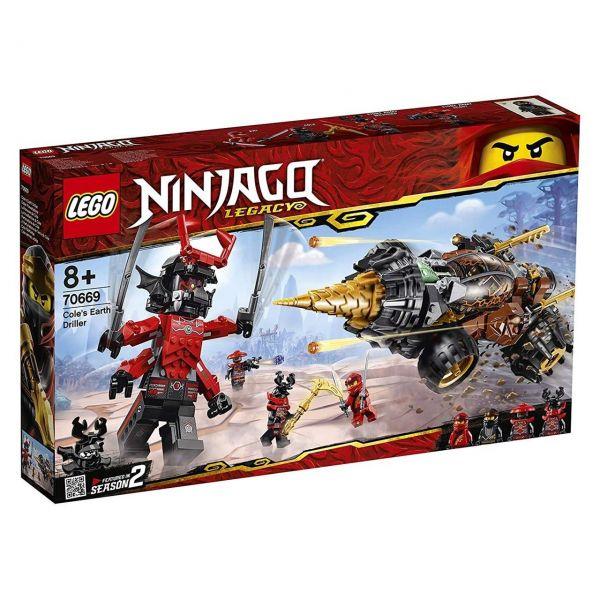 LEGO 70669 - Ninjago - Coles Powerbohrer