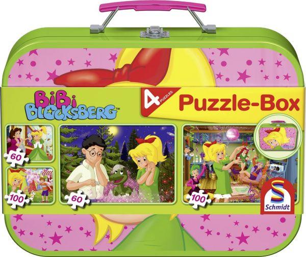 SCHMIDT 55595 - Puzzle Koffer - Bibi Blocksberg