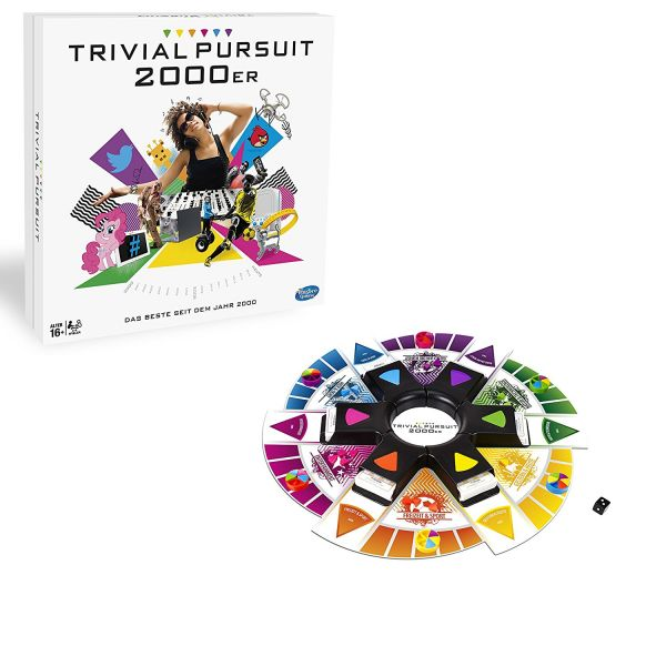 HASBRO B7388100 - Gesellschaftsspiel - Trivial Pursuit 2000er Edition