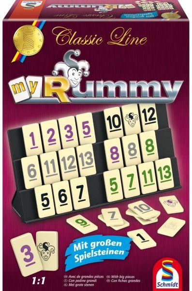 SCHMIDT 49282 - Familienspiel - Rummy