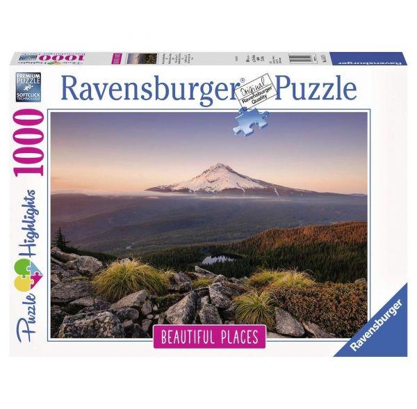 RAVENSBURGER 15157 - Puzzle - Stratovulkan Mount Hood in Oregon, 1000 Teile