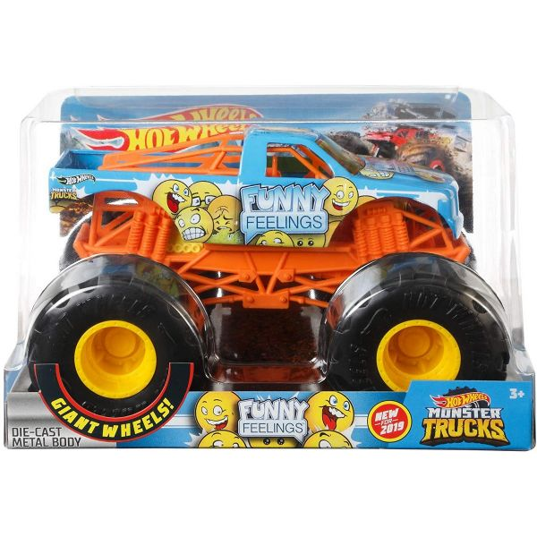 MATTEL GBV40 - Hot Wheels - Monster Truck Funny Feelings, sortiert