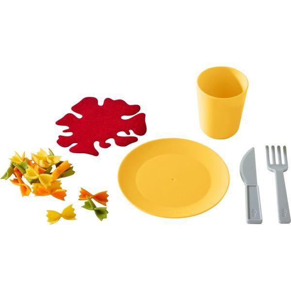 HABA 305723 - Biofino - Mittagessen-Set Nudelpfanne