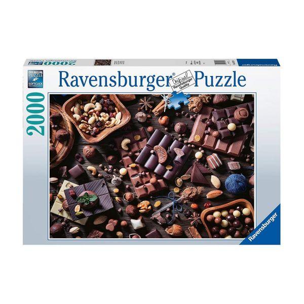 RAVENSBURGER 16715 - Puzzle - Schokoladenparadies, 2000 Teile