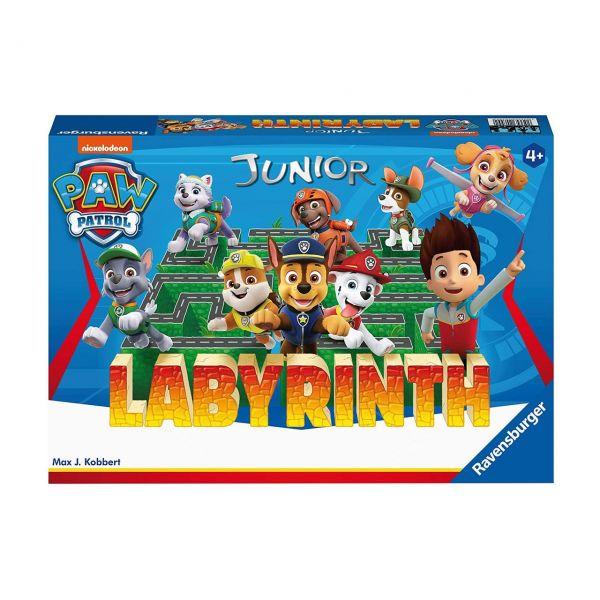 RAVENSBURGER 20799 - Kinderspiel - Labyrinth Junior, Paw Patrol