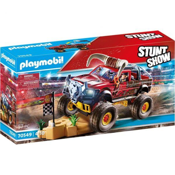 PLAYMOBIL 70549 - Stuntshow - Monster Truck Horned