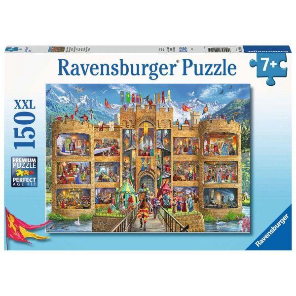RAVENSBURGER 12919 - Puzzle - Blick in die Ritterburg, 150 Teile