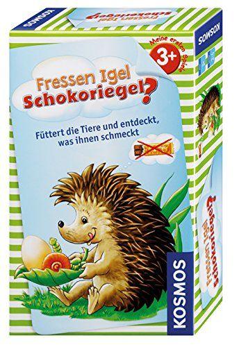 KOSMOS 711061 - Mitbringspiel - Fressen Igel Schokoriegel