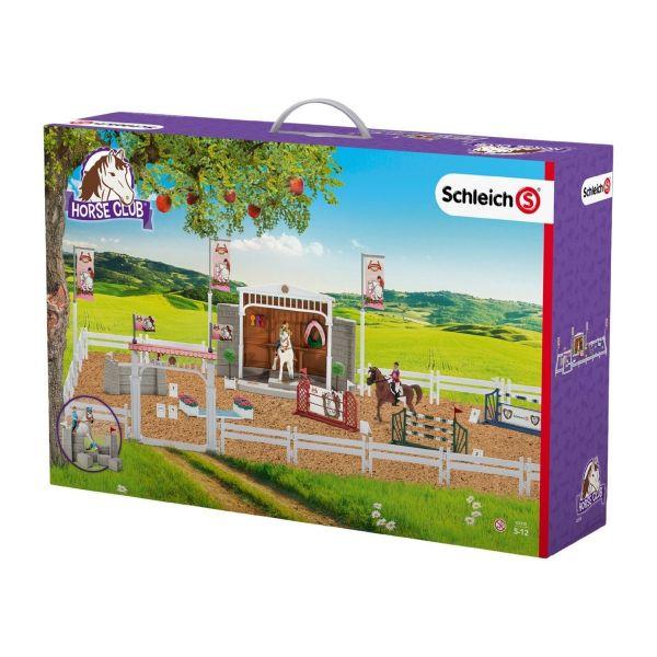 SCHLEICH 42338 - Horse Club - Großes Reitturnier mit Pferden, mehrfarbig