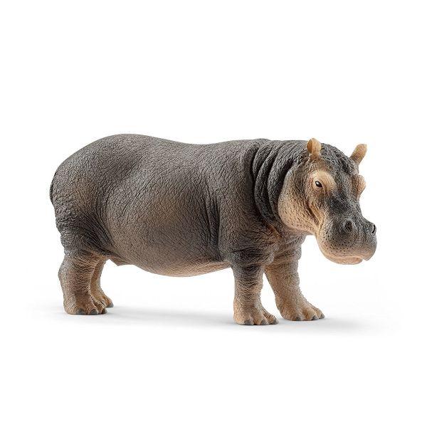 SCHLEICH 14814 - Wild Life - Flusspferd