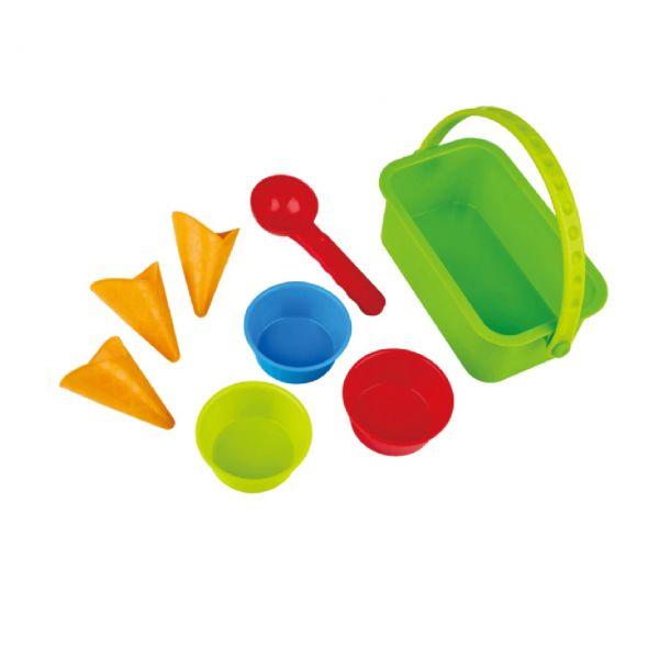 HAPE E4057 - Sandspielzeug - Eisdiele-Förmchen