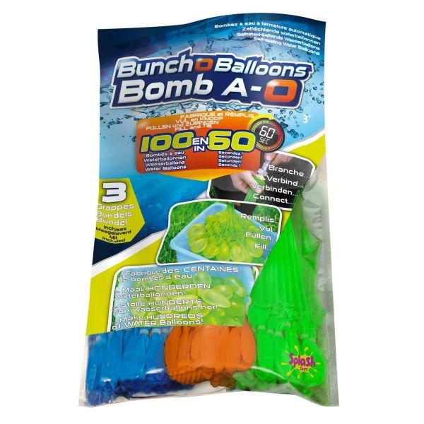 Splash Toys 31115 - Gartenspielzeug - Bunch O Balloon Wasserbomben, 100 Stk