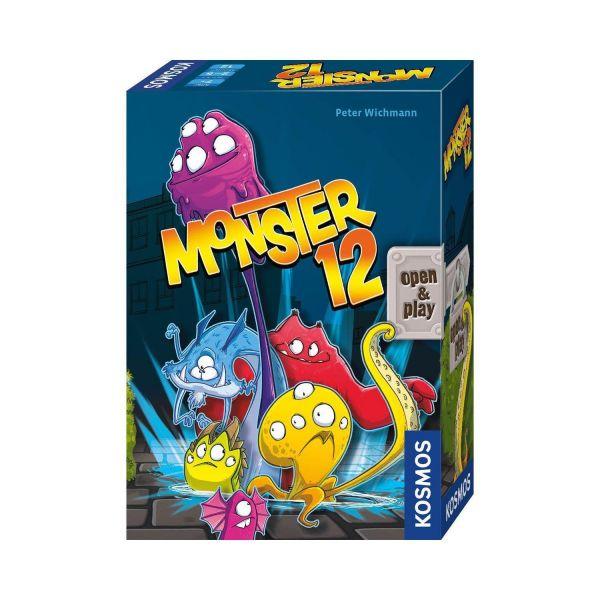 KOSMOS 680688 - Würfelspiel - Monster 12