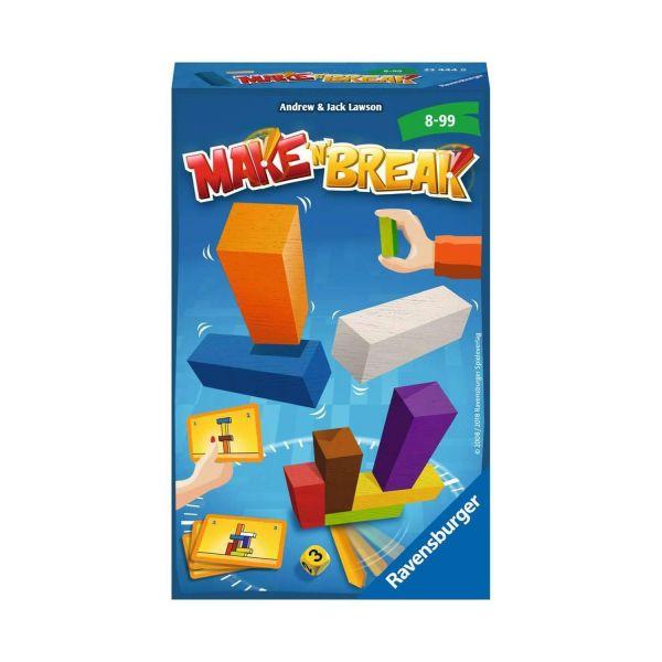 RAVENSBURGER 23444 - Mitbringspiel - Make 'n' Break