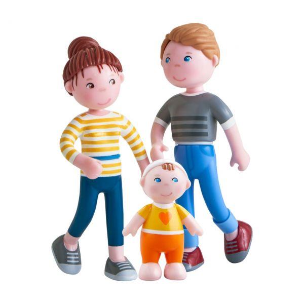 HABA 306145 - Little Friends - Spielset Familie