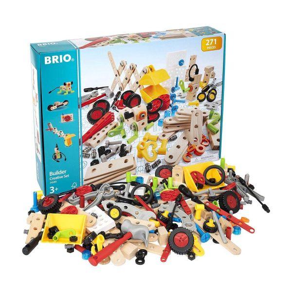 BRIO 34589 - Builder - Kindergartenset, 271-teilig