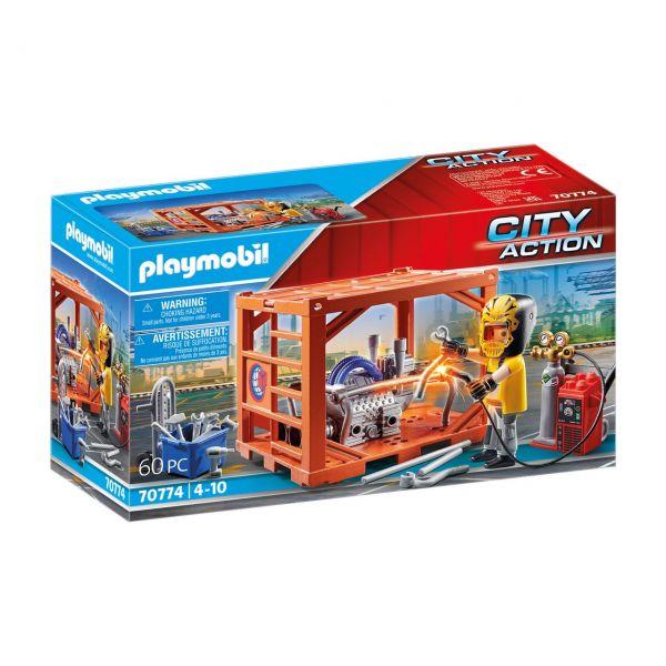 PLAYMOBIL 70774 - City Action - Containerfertigung