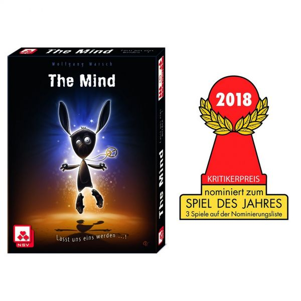 Nürnberger Spielkarten 4059 - Kartenspiel - The Mind