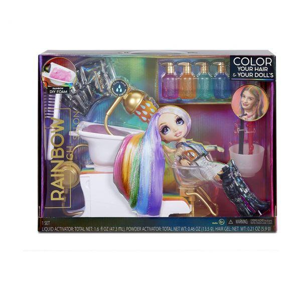 MGA 567448EUC - Rainbow High - Friseur Salon