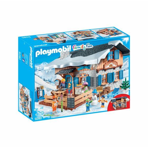 PLAYMOBIL 9280 - Family Fun Wintersport - Skihütte