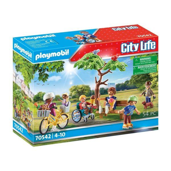 PLAYMOBIL 70542 - City Life, Meine kleine Stadt - Im Stadtpark