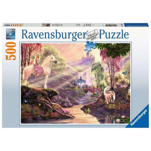 RAVENSBURGER 15035 - Puzzle - Märchenhafte Flussidylle, 500 Teile