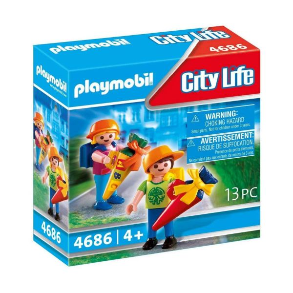 PLAYMOBIL 4686 - City Life Schule - Erster Schultag