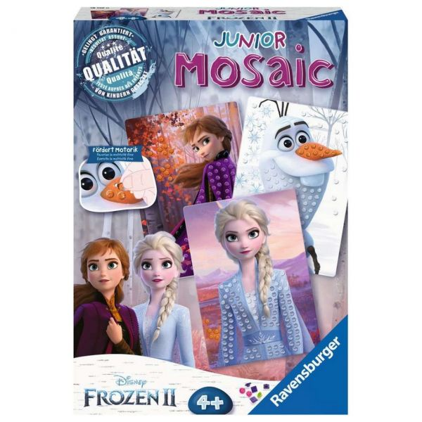 RAVENSBURGER 18110 - Mosaic Junior - Frozen 2, Die Eiskönigin