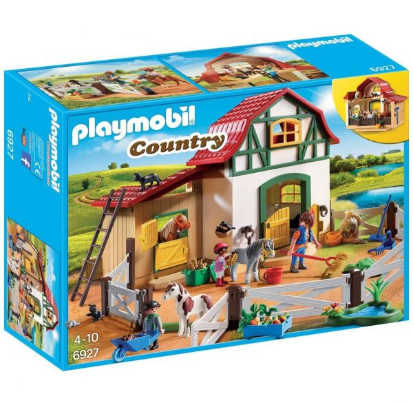 PLAYMOBIL 6927 - Country Reiterhof - Ponyhof