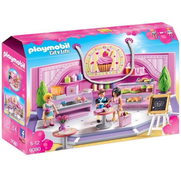 PLAYMOBIL 9080 - City Life - Café Cupcake