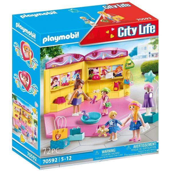 PLAYMOBIL 70592 - City Life - Kids Fashion Store
