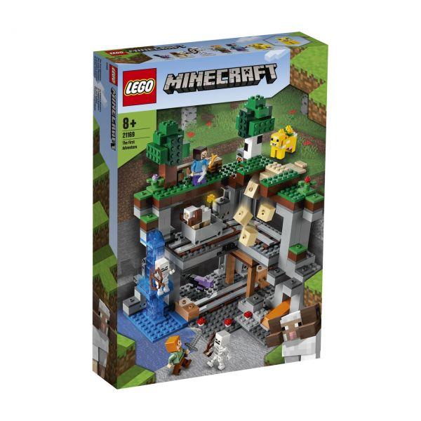 LEGO 21169 - Minecraft™ - Das erste Abenteuer