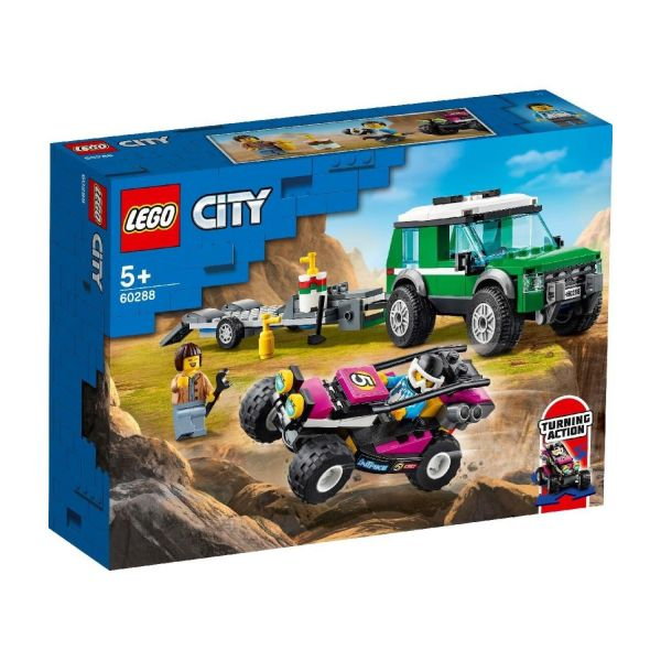 LEGO 60288 - City - Rennbuggy Transporter