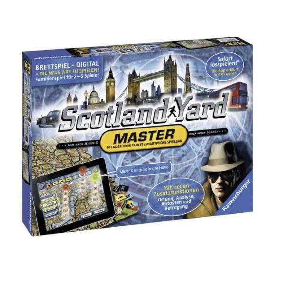 RAVENSBURGER 26602 - Gesellschaftsspiel - Sotland Yard Master