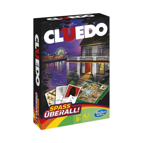 HASBRO B0999 - Gesellschaftsspiel - Cluedo Kompakt