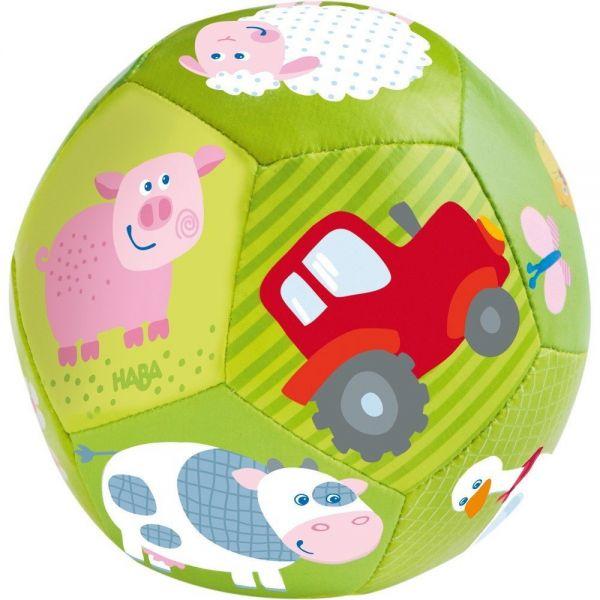 HABA 302483 - Baby-Ball - Auf dem Bauernhof