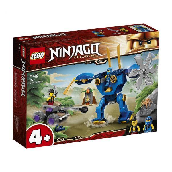 LEGO 71740 - NINJAGO - Jays Elektro-Mech