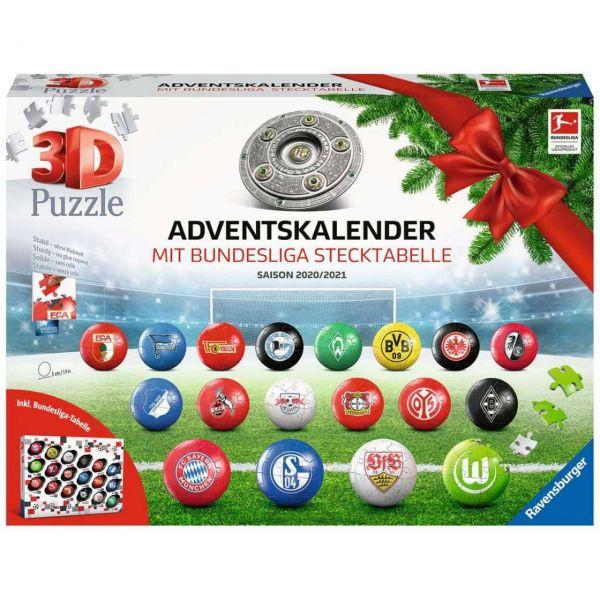RAVENSBURGER 11178 - Adventskalender - Bundesliga Saison 2020, 2021
