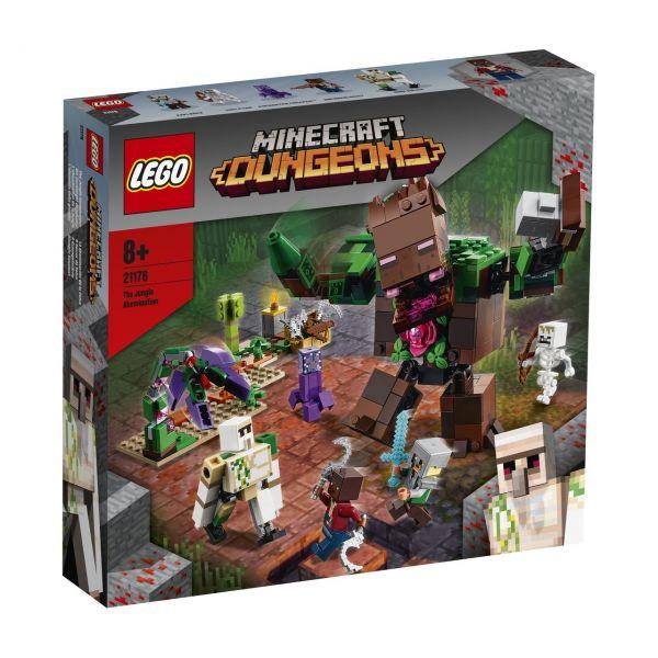 LEGO 21176 - Minecraft™ - Die Dschungel Ungeheuer