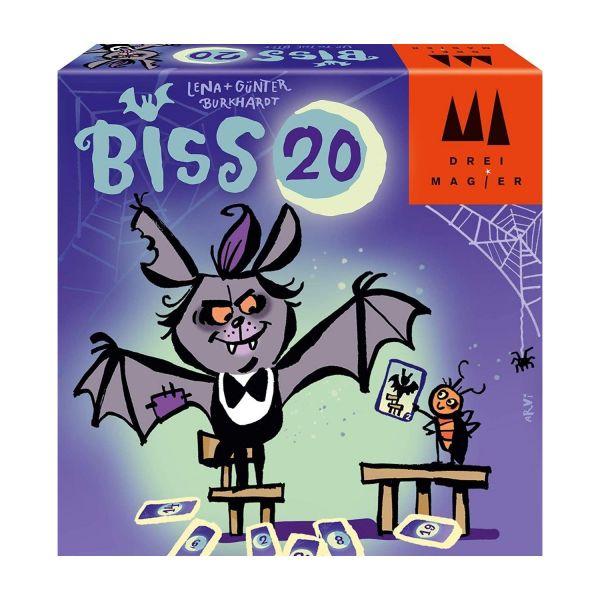 DREI MAGIER® 40890 - Kartenspiel - Biss 20