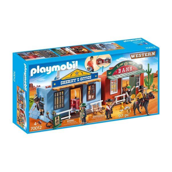 PLAYMOBIL 70012 - Western - Mitnehm-Westerncity