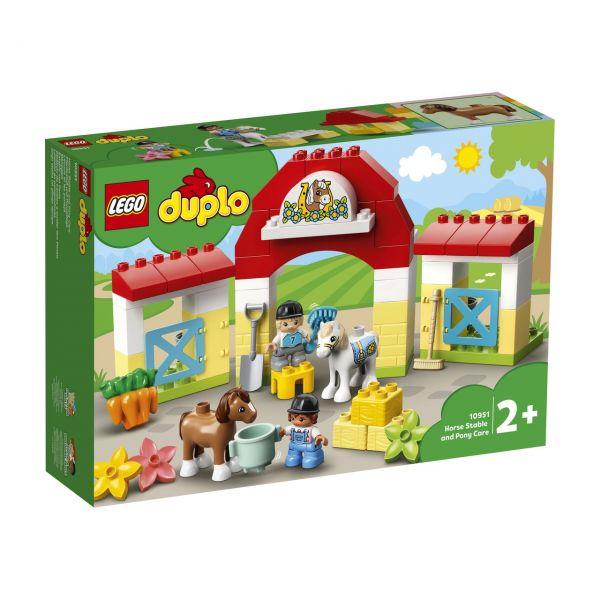 LEGO 10951 - DUPLO® - Pferdestall und Ponypflege