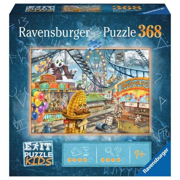 RAVENSBURGER 12926 - Puzzle - Exit Kids: Im Freizeitpark, 368 Teile