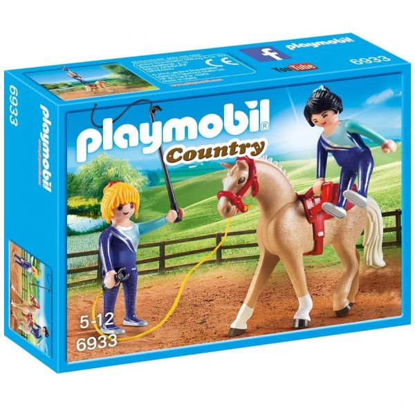 PLAYMOBIL 6933 - Country Reiterhof - Voltigier-Training